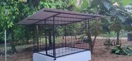 Mettal Dog cage