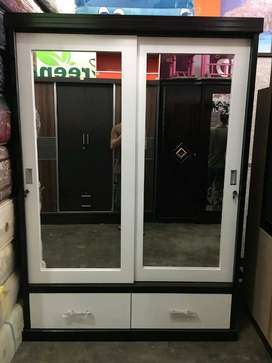 Mjb mebel - Lemari 2 Pintu Sliding New Model