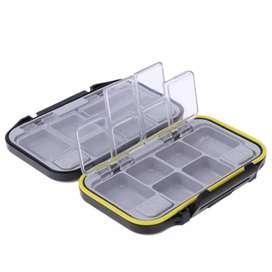 Lixada Box Kotak Perkakas Kail Pancing 12 Ruang - MCC01 - Black