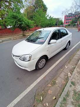 Toyota Etios petrol car model 2011 Chandigarh register for sale