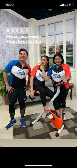 Promo Murah Treadmill Elektrik Sepeda Statis Home gym ID 63624