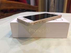 Iphone 5S Gold 16 GB with Charger , Original bill and Box
