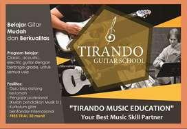 Les Gitar Kursus Gitar Klasik, Gitar Akustik, Elektrik & Bass Surabaya