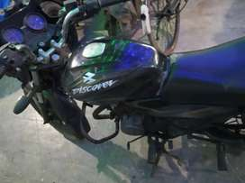 Bajaj discover 150 with 40 plus milage .(new battery,new engine oil )