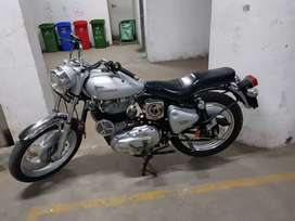 Sale my royal Enfield bullet color silver model 2008 candition new
