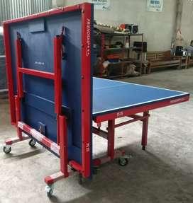 Tennis meja pingpong lipatan siap kirim bisa bayar dirumah stok banyak