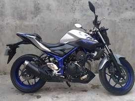 Yamaha MT25 2016 plat F kota