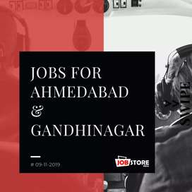 Marketing Person for Ahmedabad