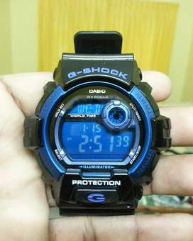 CASIO G-SHOCK DIGITAL BLUE MEN's WATCH G-8900A-1DR