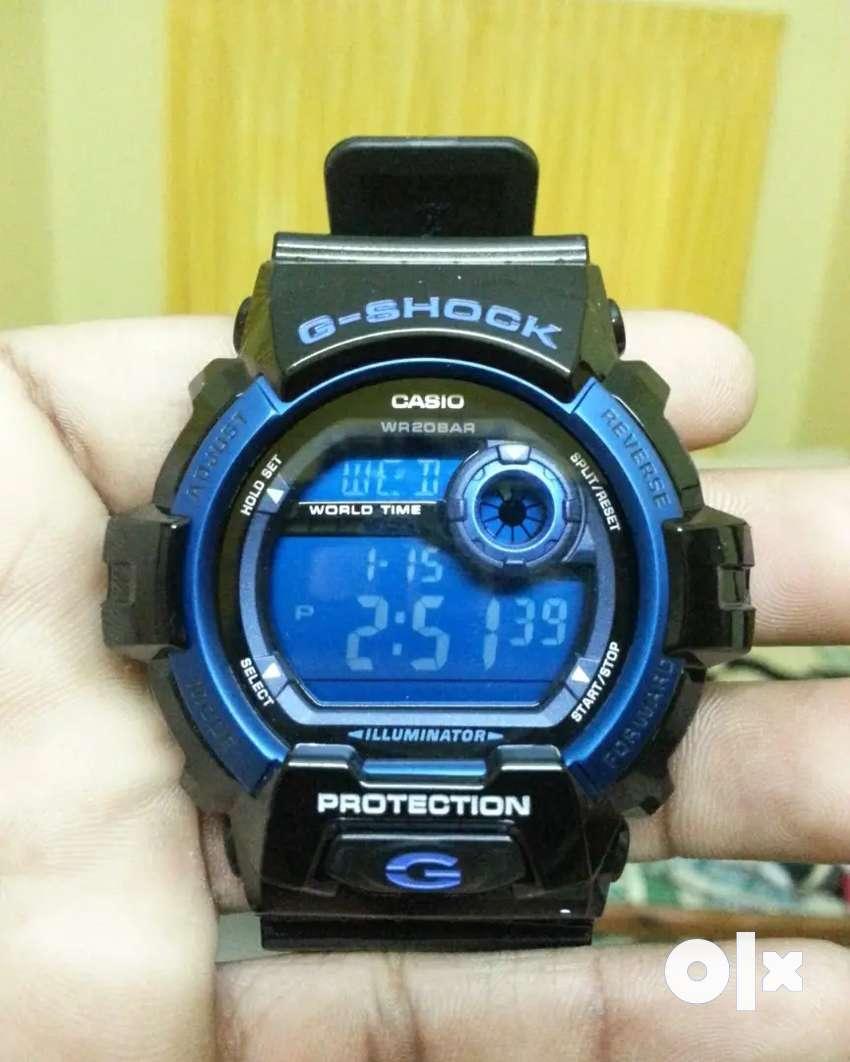 CASIO G-SHOCK DIGITAL BLUE MEN's WATCH G-8900A-1DR 0