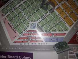 Commercial Plot 88 Sq Yd sell in Block 5 Saadi Garden 40 feet Road