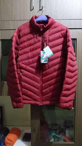 Jaket hangat musim dingin dacron XL