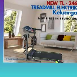 treadmill elektrik TL-246 F-052 electric alat fitnes