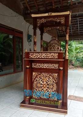 Mimbar masjid ceramah ulir 2