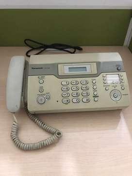 Telepon dan mesin faximile
