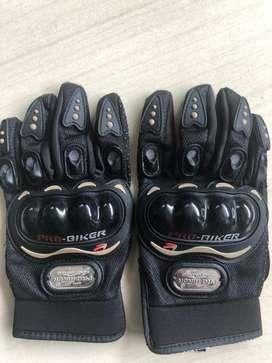 Pro rider hand gloves