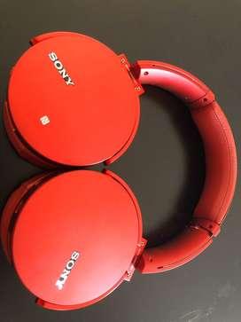 Sony MDR XB950BT Wireless headphones
