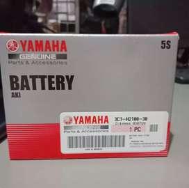Menjual Battery Yamaha Geniune 5s 12Volt 3.5AH