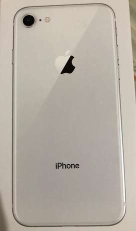 Apple I phone 8 64 GB with bill box and everything
