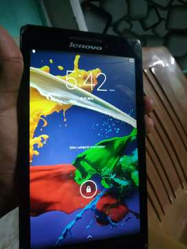 Lenovo tap for sale urgent 2 years use