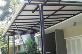 pemasangan rangka baja ringan , baja berat dan atap plafon minimalis