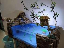 Artificial Waterfall aquarium
