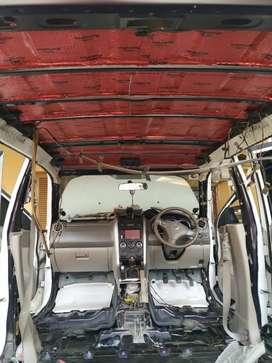 Peredam mobil pasang dirumah TR138