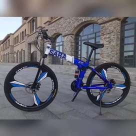 Sara enterprises.  21 GEAR shimano Tourney TZ. Foldable CYCLE AVAILABL