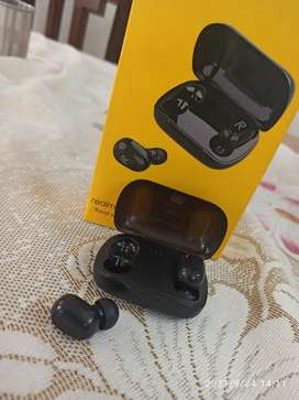 Realme TWS earbuds . (Waterproof) with long lasting battery life