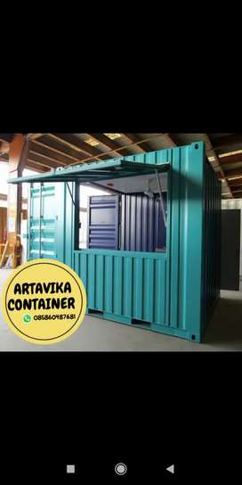 BOOTH SEMI CONTAINER,CONTAINER USAHA,CONTAINER CUSTOM