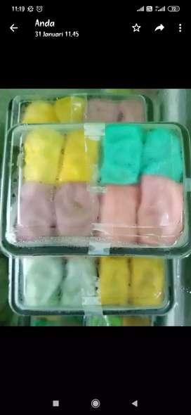 Pancake durian kecil