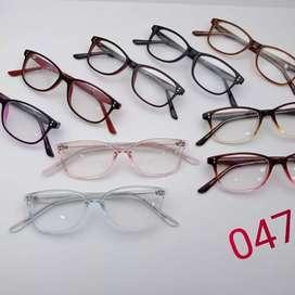 Kacamata unisex antiradiasi minus / plus
