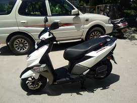 Beautiful scooty
