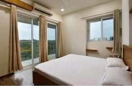 Fully furnished flat marine drive kochi 3bhk 45000/50000/60000 rent