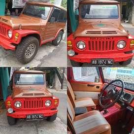 Jual jeep pemakaian pribadi