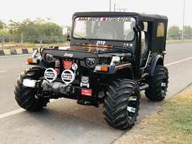 Open willys jeeps