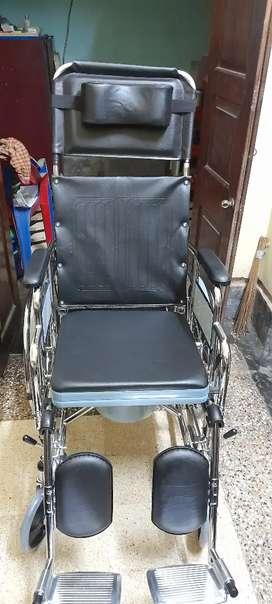 New reclining wheelchair.