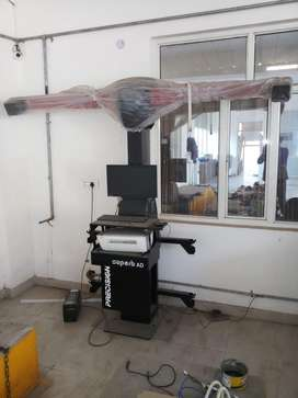 Alignment balancing and lift machine