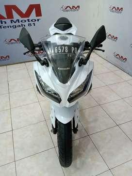 NINJA 250 R FI PUTIH 2014 ANUGERAH MOTOR RUNGKUT TENGAH