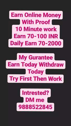 Earn from Mobile No Investment