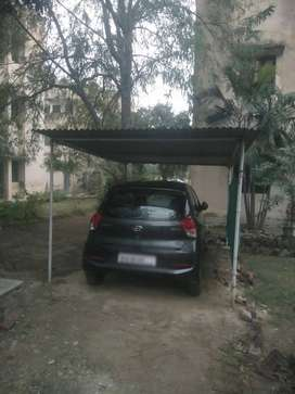 Shed for car