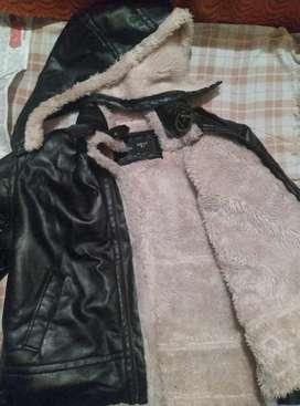 Winter wear - leather jacket -