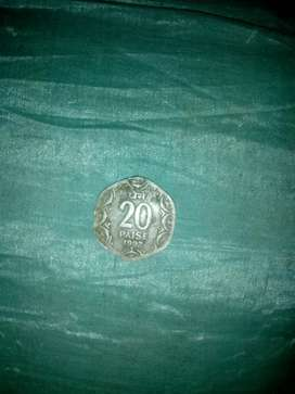 20 paise 1992