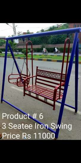 Fibre STeel And Iron Swings