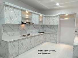 Buat kitchen set dan desain interior di bireuen