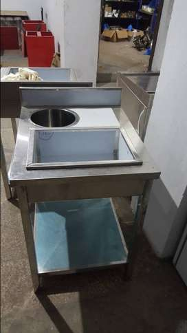 Working & Breading Tables, Sinks, Racks, Shwarma & Burger counters