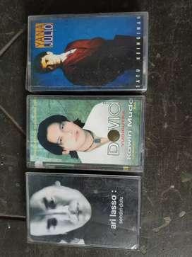 3 cassette Ari Lasso, DovidYudiputra, YanaJulio.