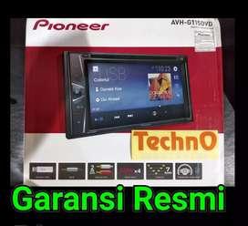 Pioneer dvd tv mobil G 115 grosir tape 2din for paket sound audio