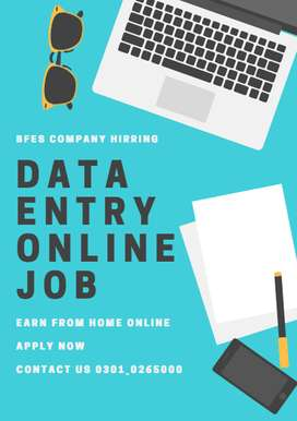 BFES Company is Hirring Workers for Data Entry Job to Earn
