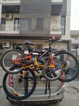 Cycle holder for car